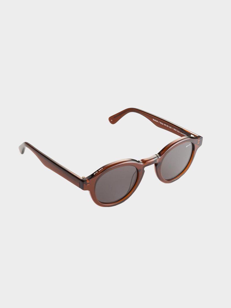 Modish Sunglasses | Transparent brown Gray lenses