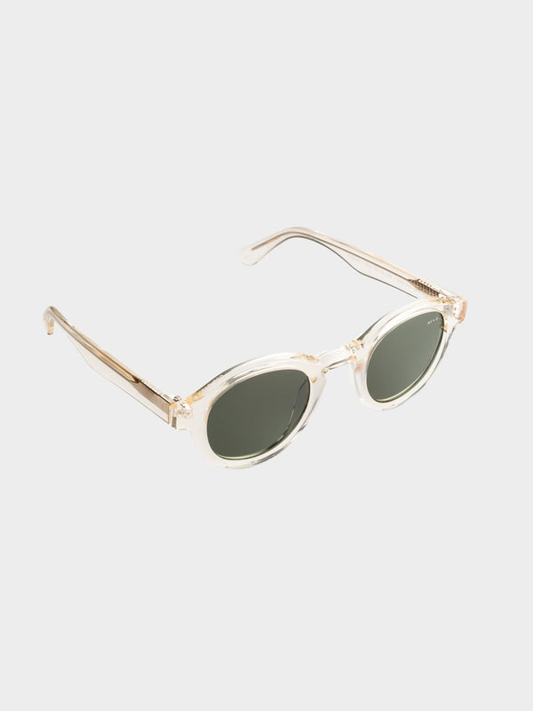 Modish Sunglasses | Transparent yellow Green lenses