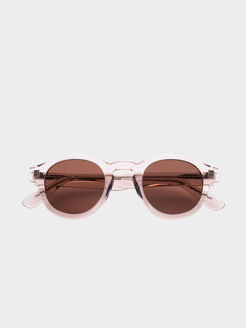 Modish Sunglasses | Transparent sand Brown lenses