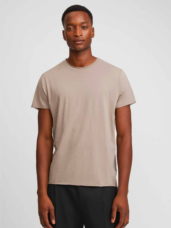 Roll Neck Tee | Desert Tau
