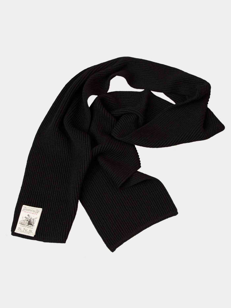Split Scarf | Navy Blue