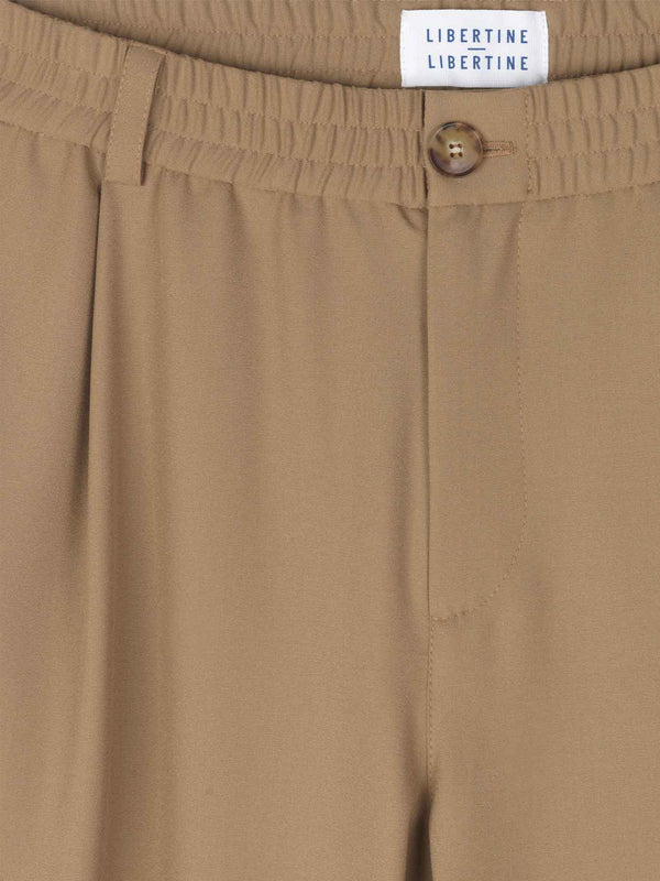Smoke Trousers | Khaki