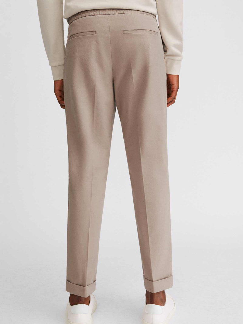 Terry Cotton Trouser | Desert Tau