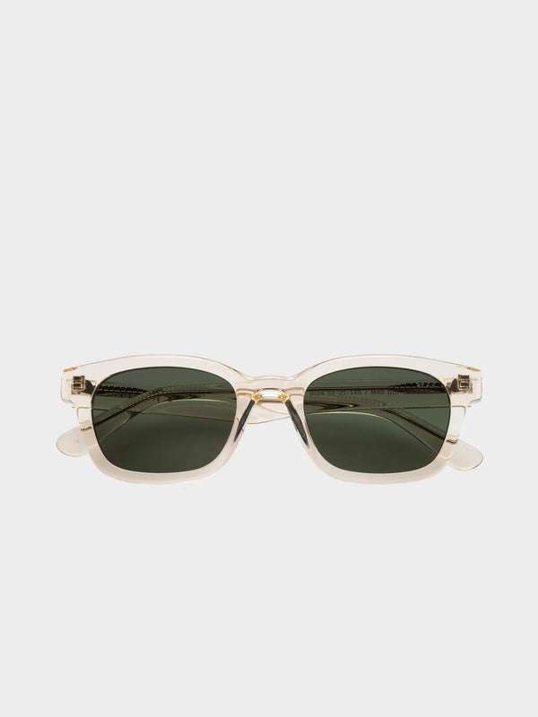 Unbound Sunglasses | Transparent yellow Green lenses