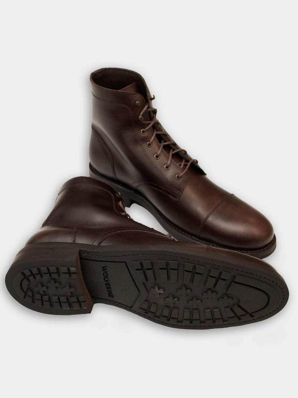 BLVD Cap Toe Boot | Brown
