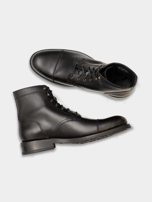 BLVD Cap Toe Boot | Black