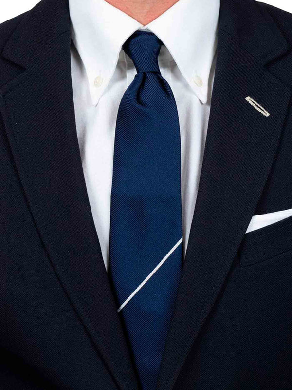 The Navy Draper Tie