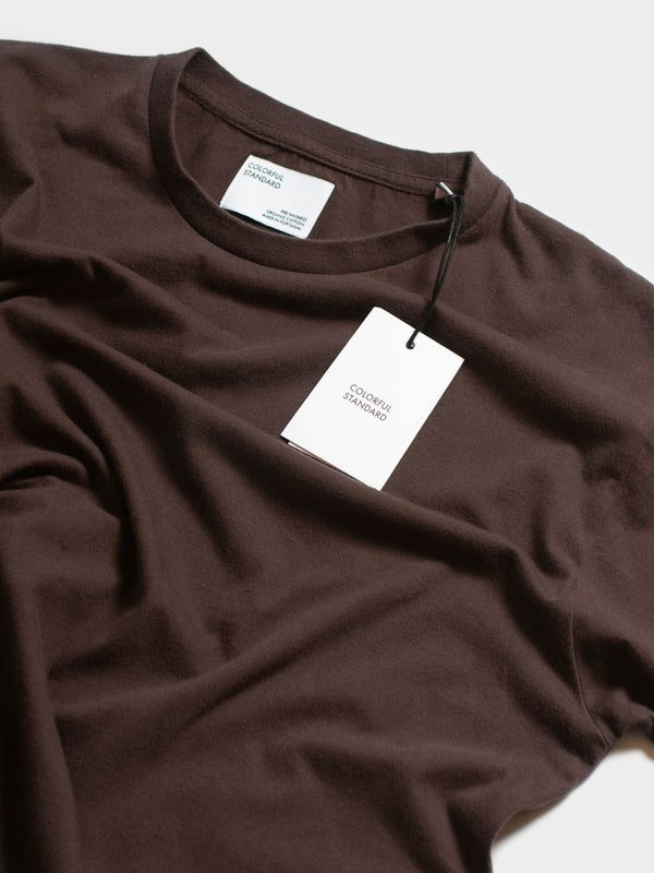 Classic Organic Tee | Coffee Brown