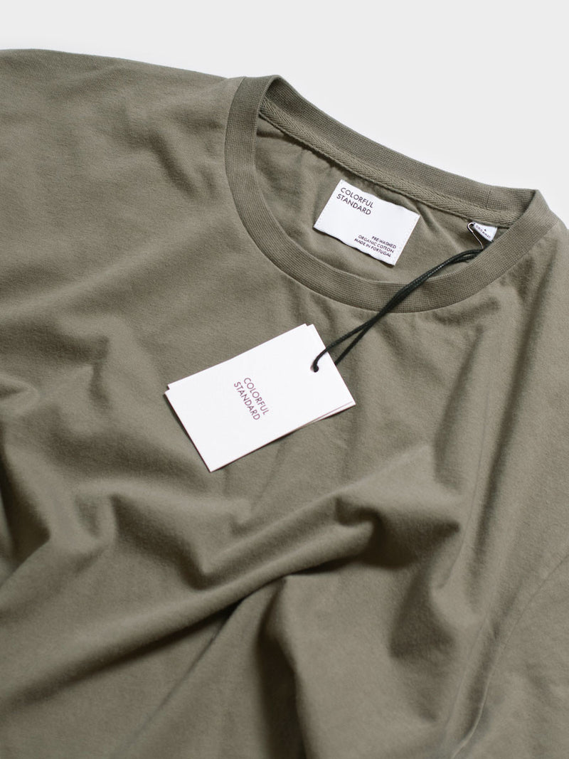 Classic Organic Tee | Dusty Olive