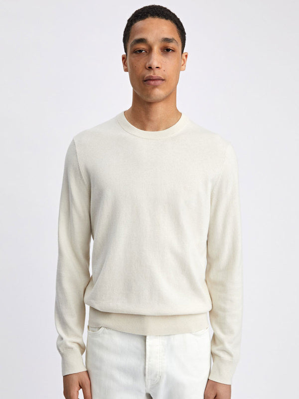 Cotton Merino Sweater | Birch
