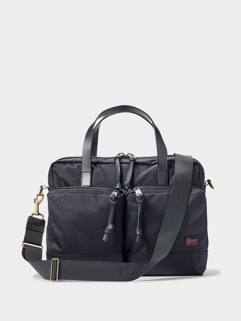 Ballistic Nylon Dryden Briefcase | Dark Navy