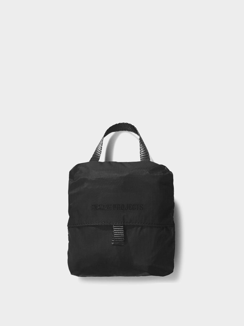 Packable Tote Bag | Black