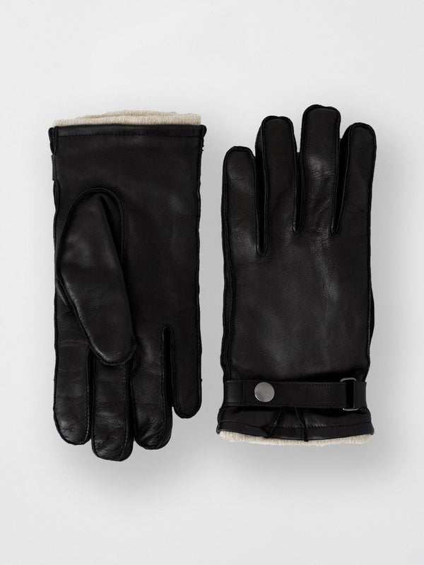 Lamb With Lambswool Glove | Black