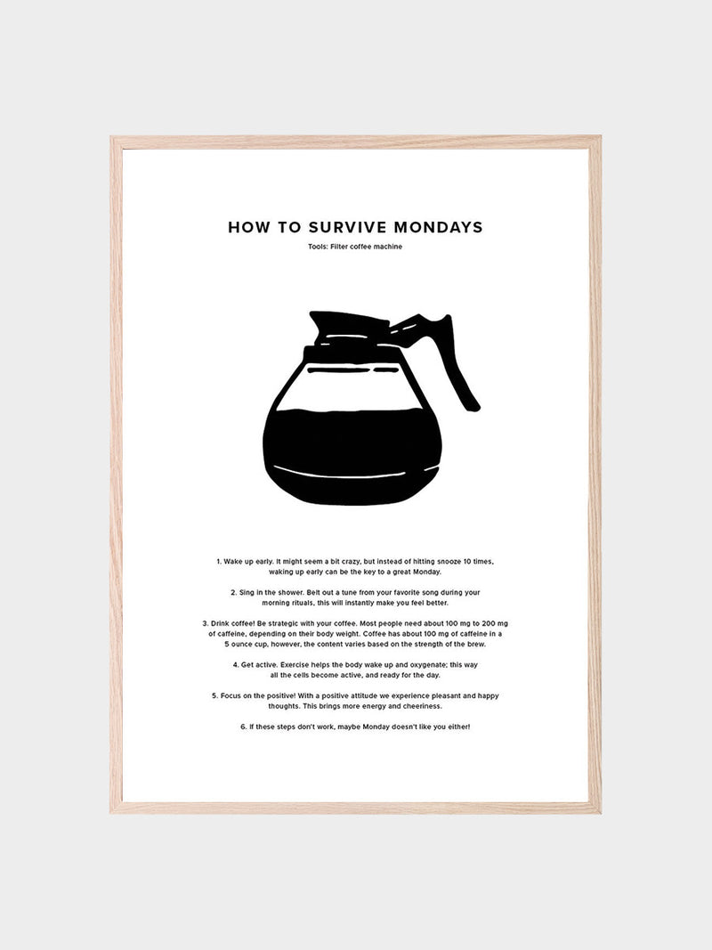 How To Survive Mondays Poster