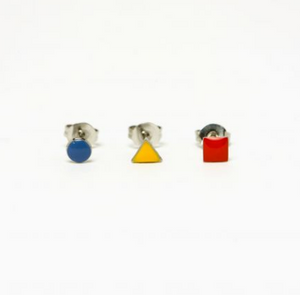 Set de Boucles d'oreilles Bauhaus - Titlee x Cinq Point