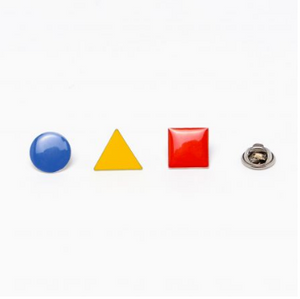 Set de pin's Bauhaus - Titlee x Cinq Points