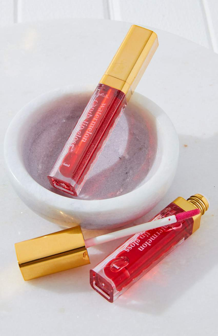 petals candy flavoured lip gloss