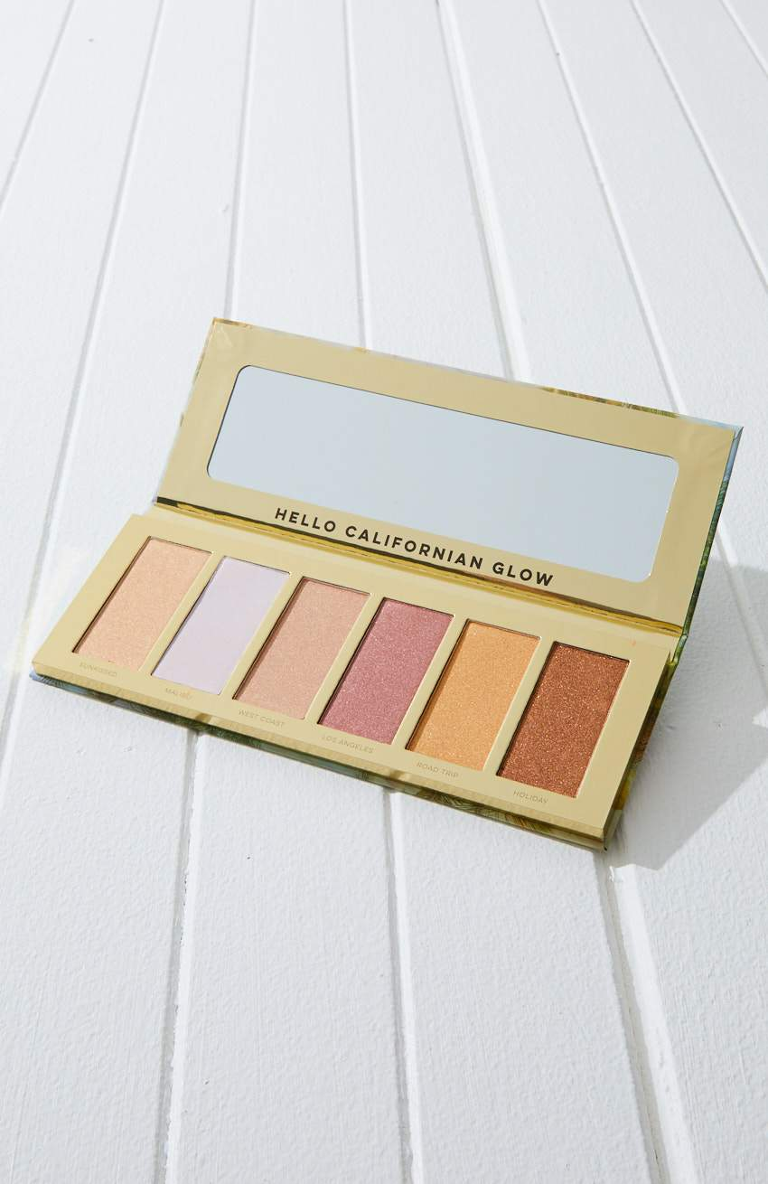 petals scented highlighter palette gift box