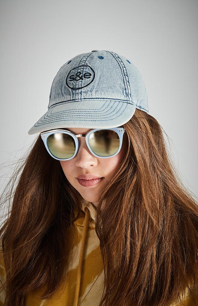 denim s&e cap