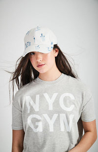 whitney grey marle french terry nyc sweat top
