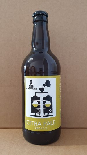 North Riding Citra Pale 4.5% 500ml Bottle