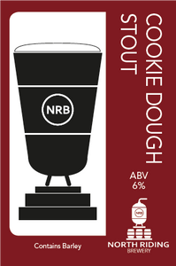 North Riding Cookie Dough Stout 6% 500ml Bottles