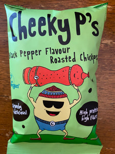 Cheeky P's Black Pepper Flavour Roasted Chickpeas