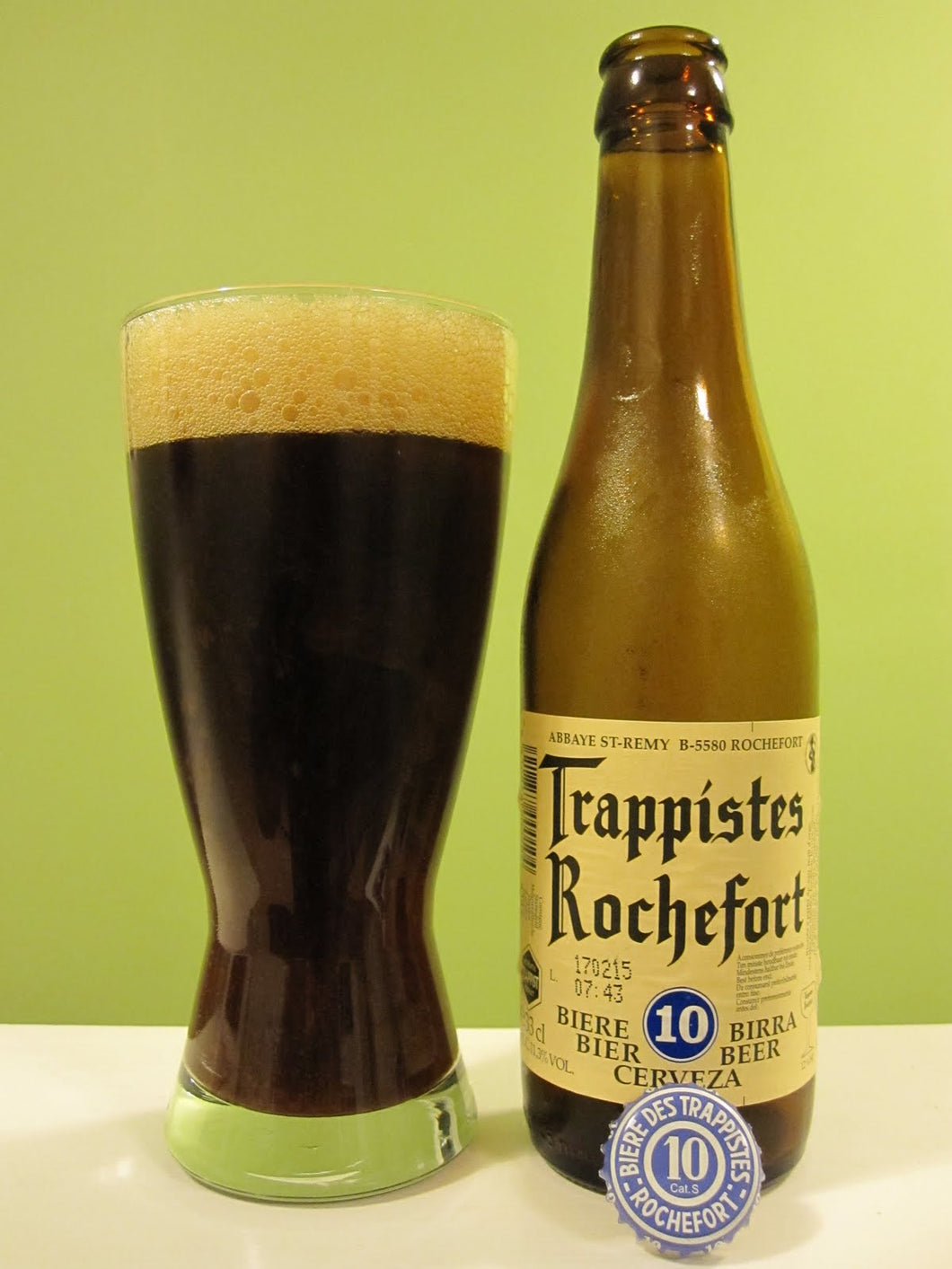 Trappistes Rochefort 10 11.3% 33cl Bottle