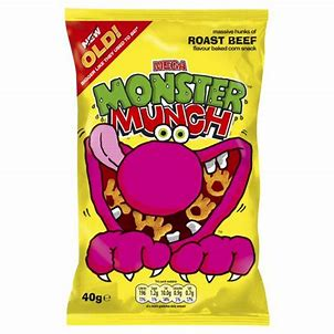 Monster Munch Roast Beef