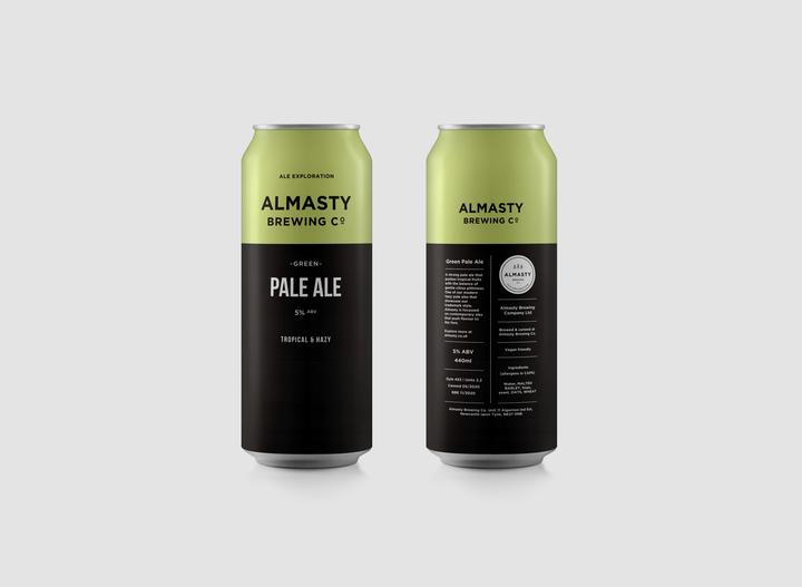 Almasty Green Ale 5% 440ml Can