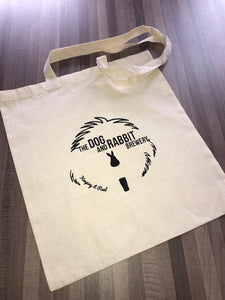 Dog & Rabbit Tote Bag