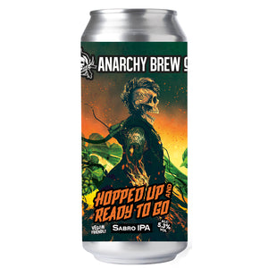 Anarchy Hopped Up & Ready to Go IPA 5.3% 440ml Can