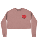 "Women's ""Rescue Crew"" Cropped Sweater"