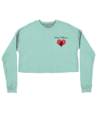 "Women's ""Dog Mama"" Cropped Sweater"