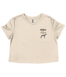 "Women's ""Hikes & Hounds"" Cropped Tee"