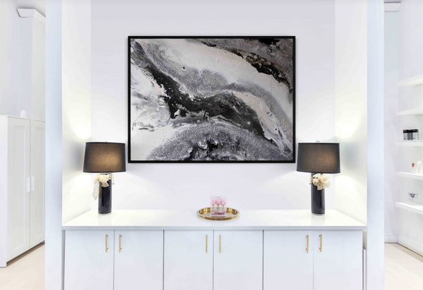 Shimmering Onyx - Original Painting