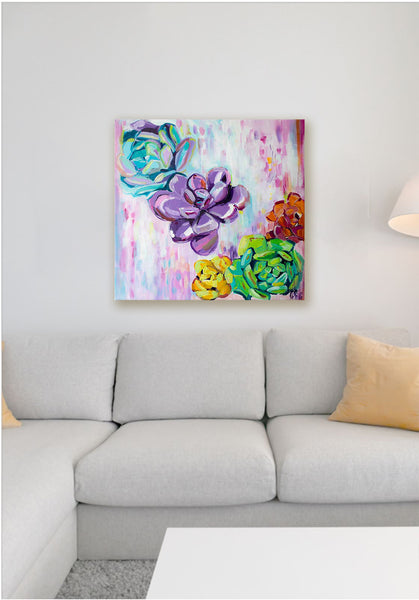 Floral Showers - Original Painting