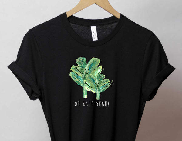 Oh Kale Yeah! - Bella and Canvas - Short-Sleeve Unisex T-Shirt