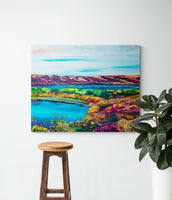 Katepwa Valley - Canvas Print