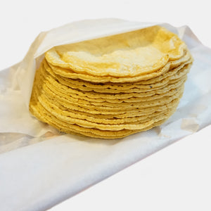 Corn tortillas out the oven 500gr - From Monday to Thursday, pick up and local delivery only