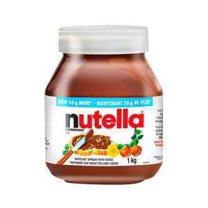 Costco Nutella hazelnut chocolate spread 1kg