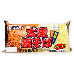 Costco Aoki food thick fried noodle (powder source) 200g × 6