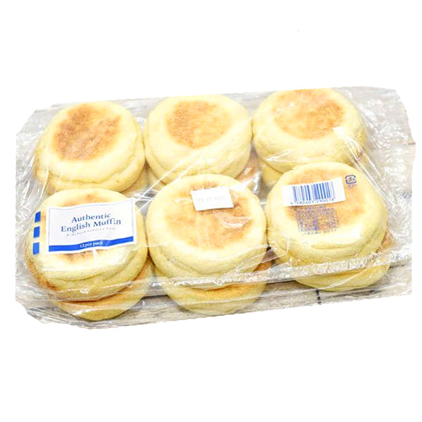 Costco Ina bakery authentic English muffin 12 pieces 582319