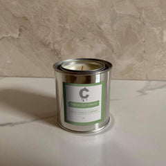 Fresh Cut Grass Candle - 8oz. - Je Suis Bleu