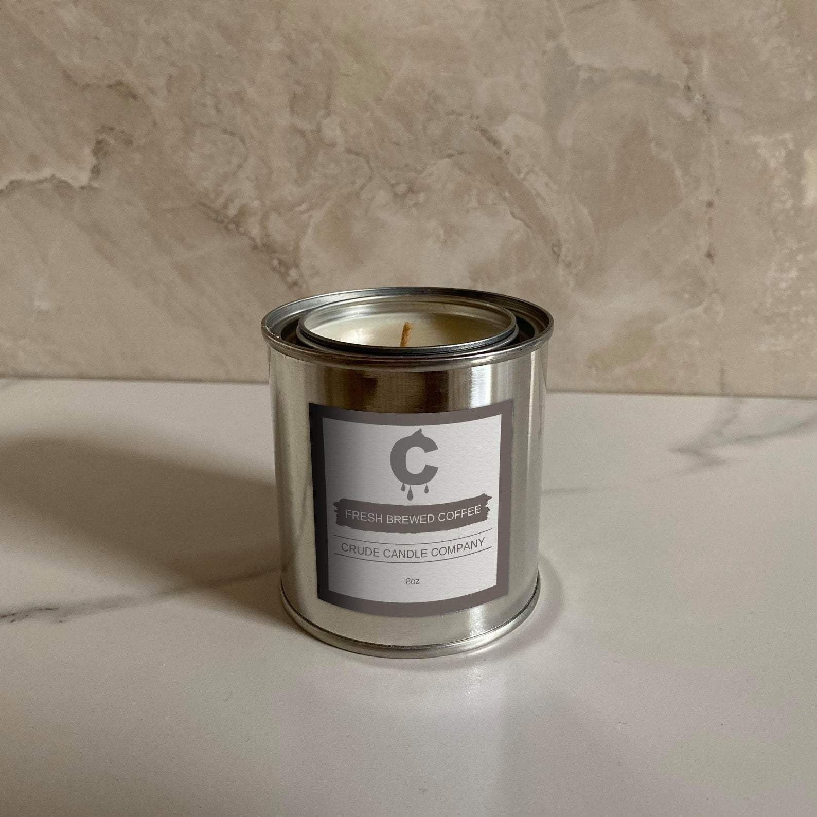 Fresh Brewed Coffee Candle - 8oz - Je Suis Bleu