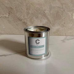 Spa Scented Candle - 8oz - Je Suis Bleu