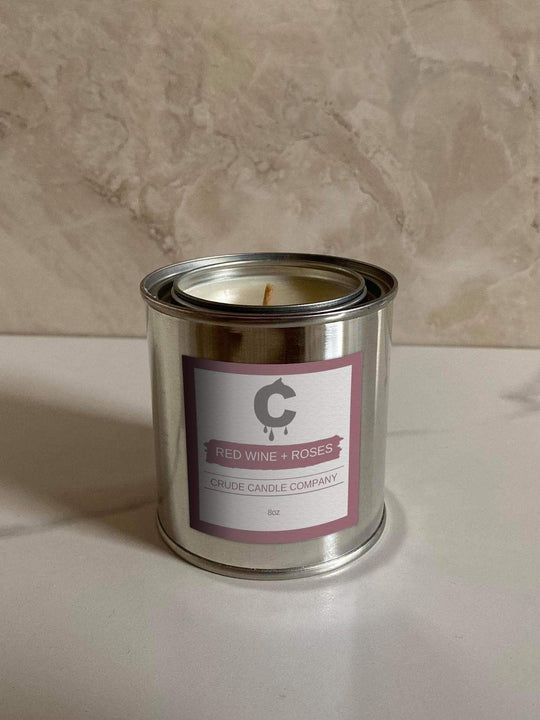 Red Wine and Roses Candle - 8oz