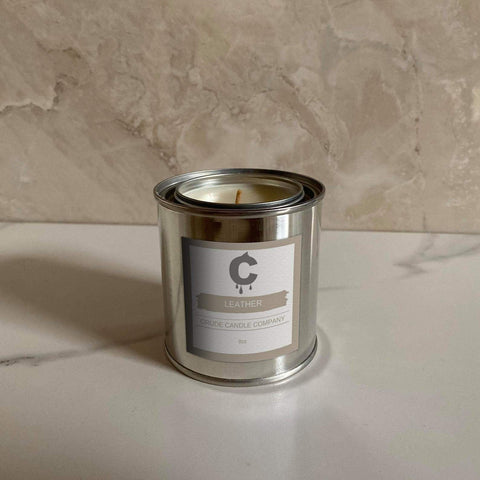 Leather Candle - 8oz