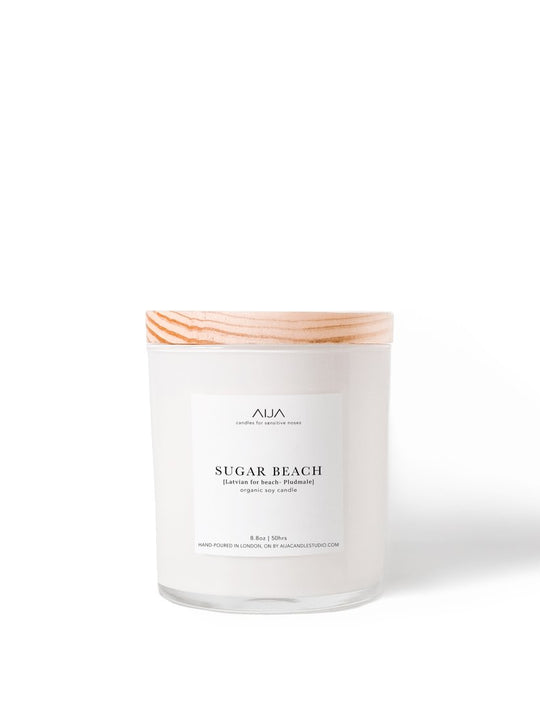 Sugar Beach Cotton Wick Candle - 8.8oz