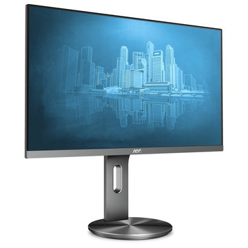 "AOC U2790PQU 27"" 4K Ultra HD LED 60Hz Nero, Titanio"